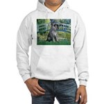 Lily Pond Bridge/Giant Schnau Hooded Sweatshirt