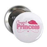 Cowgirl Princess 2.25&quot; Button
