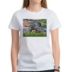 Lilies #2 & PS Giant Schnauze Women's T-Shirt