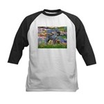 Lilies #2 & PS Giant Schnauze Kids Baseball Jersey