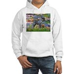 Lilies #2 & PS Giant Schnauze Hooded Sweatshirt