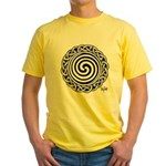 Spiral Strength Yellow T-Shirt