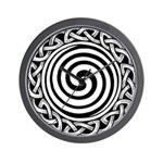 Spiral Strength Wall Clock
