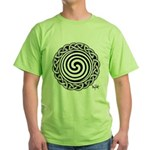 Spiral Strength Green T-Shirt