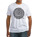 Spiral Strength Fitted T-Shirt