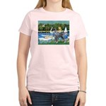 PS G. Schnauzer & Sailboats Women's Light T-Shirt