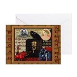 Edgar Allan Poe - Greeting Card
