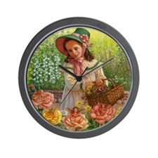 """Mary,Mary"" Wall Clock"