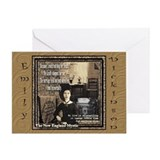 Emily Dickinson - Greeting Card