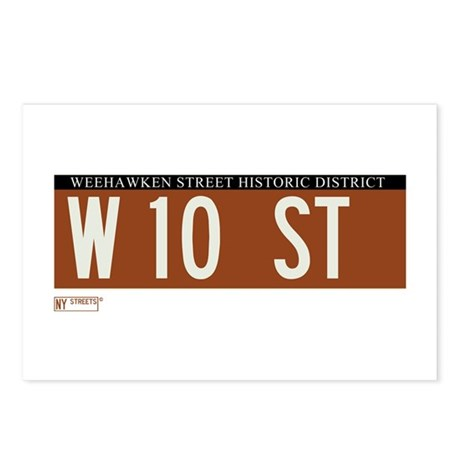 10th Street in NY Postcards (Package of 8)