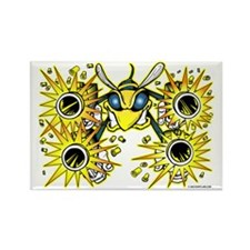 Killer Bee @ eShirtLabs.Com Rectangle Magnet