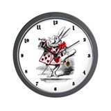 Cute Alice Wall Clock