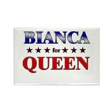 BIANCA for queen Rectangle Magnet (10 pack)