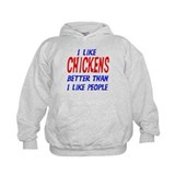 I Like Chickens Hoody
