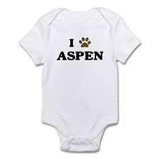 Aspen paw hearts Infant Bodysuit