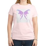 blue/ purple wings Women's Light T-Shirt