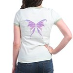 blue/ purple wings Jr. Ringer T-Shirt