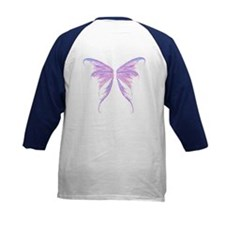 blue/ purple wings Kids Baseball Jersey
