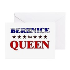 BERENICE for queen Greeting Cards (Pk of 20)