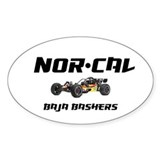 Nor Cal Bashers Oval Decal
