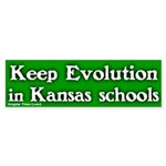 Kansas Evolution Bumper Sticker