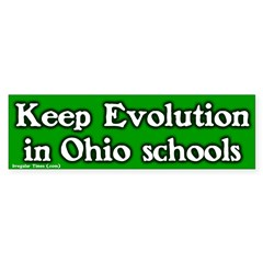 Ohio Evolution Bumper Sticker
