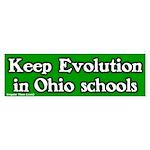 Ohio Evolution Bumper Sticker