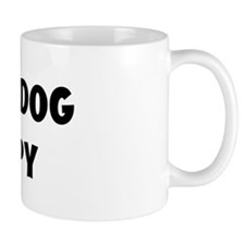 I Love My Dog Snoopy Coffee Mug
