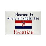 Croatian Chefs Rectangle Magnet (10 pack)