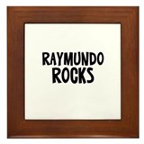 Raymundo Rocks Framed Tile