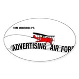 AAF Oval Decal