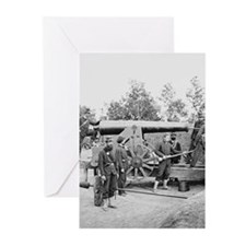 Cannon Ft Woodbury 1863 Greeting Cards (Package of