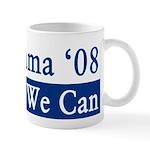 Obama '08 Yes We Can Coffee Mug