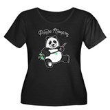 Panda Monium (pandemonium) Women's Plus Size Scoop