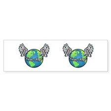 Earth Angel Bumper Bumper Sticker