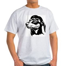 My Doxie is Wise... Ash Grey T-Shirt