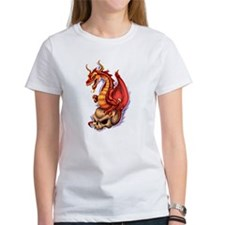 Unique Dragon skull Tee