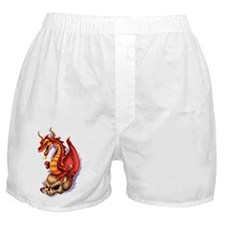 Cute Dragon skull Boxer Shorts