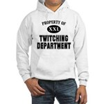 Property of Twitching Department Hooded Sweatshirt