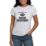 Prop of Ringing Dept Women's T-Shirt