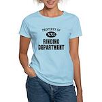 Property of Ringing Dept Women's Light T-Shirt