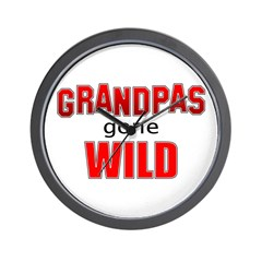 Grandpas Gone Wild Wall Clock