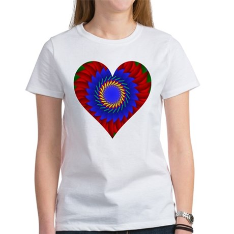 Kaleidoscope Heart Women's T-Shirt
