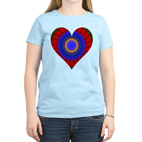Kaleidoscope Heart Women's Light T-Shirt