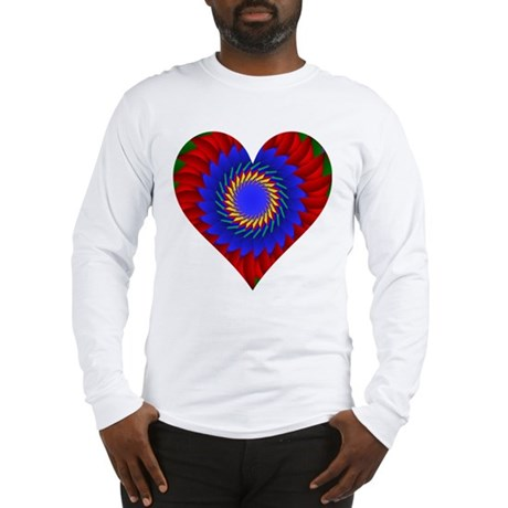 Kaleidoscope Heart Long Sleeve T-Shirt