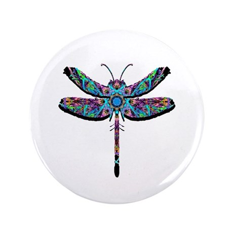 "Dragonfly 3.5"" Button (100 pack)"