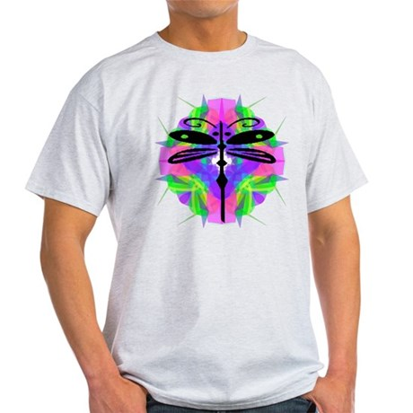 Kaleidoscope Dragonfly Light T-Shirt
