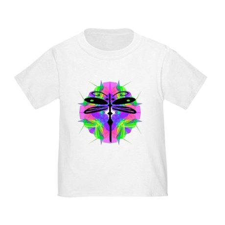 Kaleidoscope Dragonfly Toddler T-Shirt