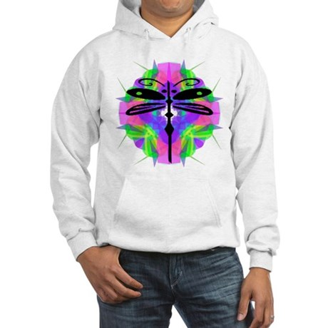 Kaleidoscope Dragonfly Hooded Sweatshirt