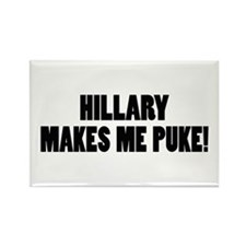 Anti-Hillary Clinton T-shirts Rectangle Magnet (10